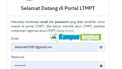 Photo of Panduan Lengkap Masuk dan Mengisi Data Akun LTMPT yang Benar