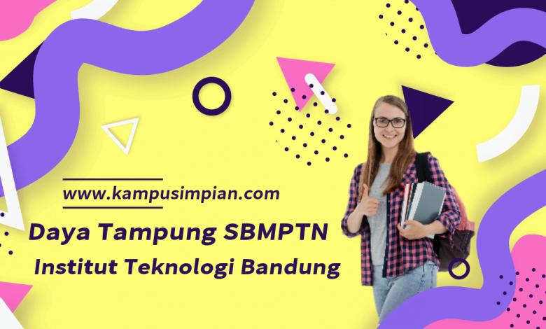 Daya Tampung SBMPTN Institut Teknologi Bandung 2020/2021