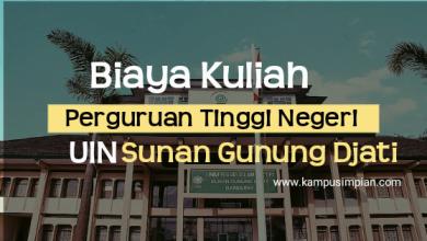 Photo of Biaya Kuliah Terbaru UIN Sunan Gunung Djati  2020/2021