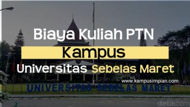 Biaya Kuliah Universitas Sebelas Maret 2020/2021