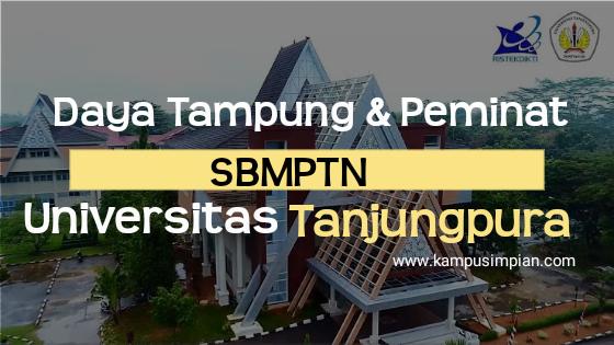 Daya Tampung & Peminat SBMPTN Universitas Tanjungpura 2020/2021