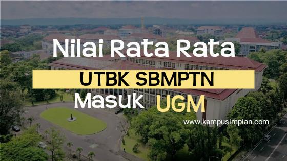Prediksi Nilai Utbk Untuk Masuk Ugm 2020 Universitas Gadjah Mada Kampusimpian Com