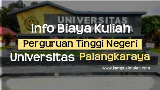 Biaya Kuliah UPR 2020/2021