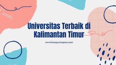 Photo of 6 Universitas Terbaik di Kalimantan Timur 2020/2021