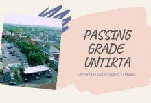 Passing Grade NIlai UTBK UNTIRTA